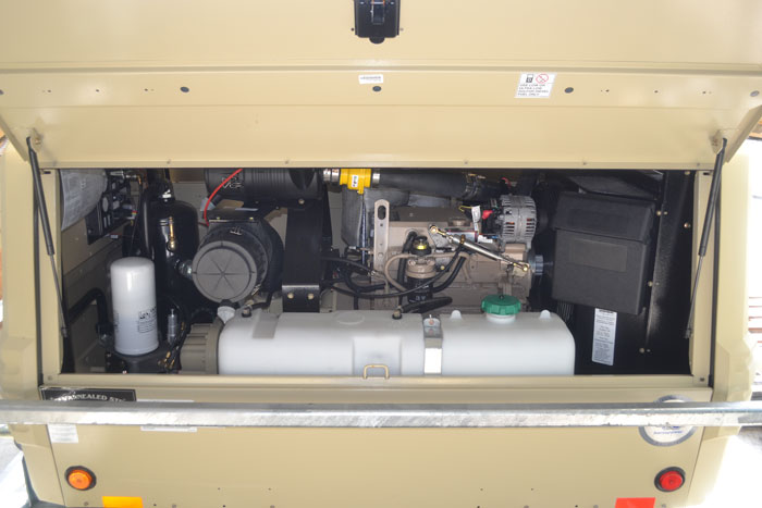 185 CFM Skid Mounted Air Compressor